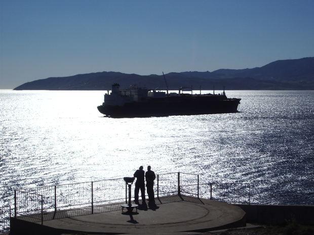Importación y exportación global en transporte marítimo