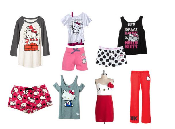 Vístete a la moda con la Ropa de Hello Kitty