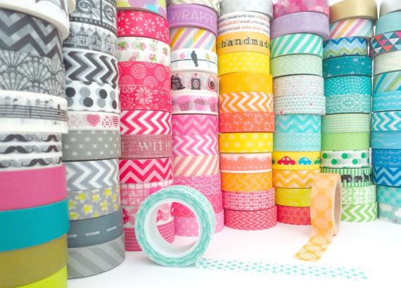El washi tape, elemento clave de las manualidades