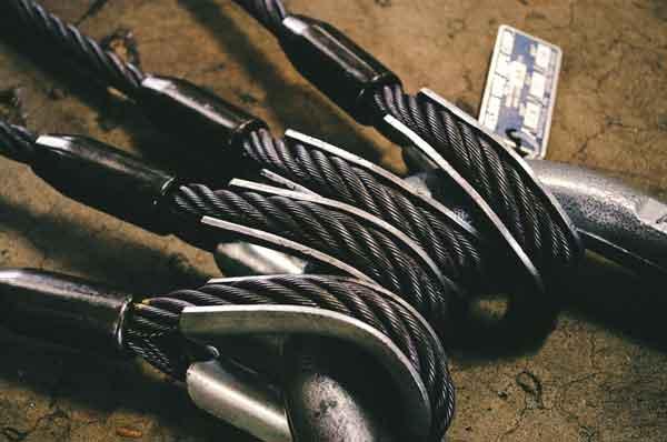 eslingas de cable