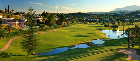 golf course in Marbella